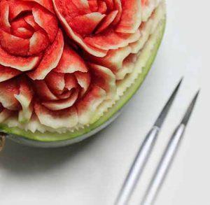ОБУЧЕНИЕ КАРВИНГУ (фигурной резке по овощам и фруктам)